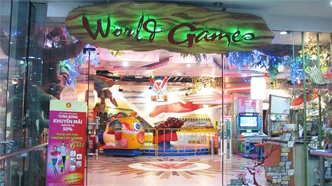 Thế giới trò chơi ở tầng 5, tòa tháp C Vincom Bà Triệu