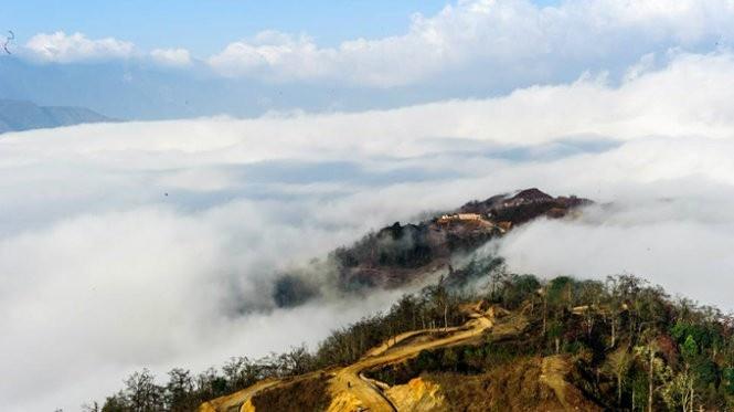 Mây trôi bồng bềnh khắp núi rừng Y Tý