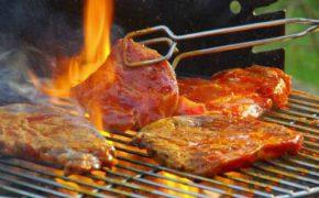Bò tái kiến đốt – món ăn ngon lạ ở Tam Đảo