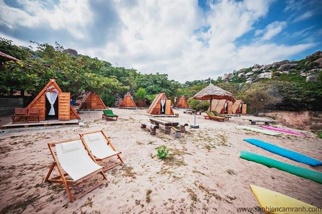Những căn lều gỗ theo phong cách du mục nổi tiếng ở Sao Biển