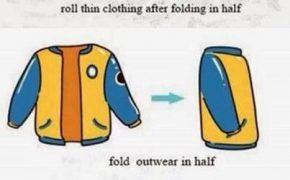 Cách gấp quần áo du lịch: Làm sao để đựng nhiều đồ trong ba lô nhỏ?