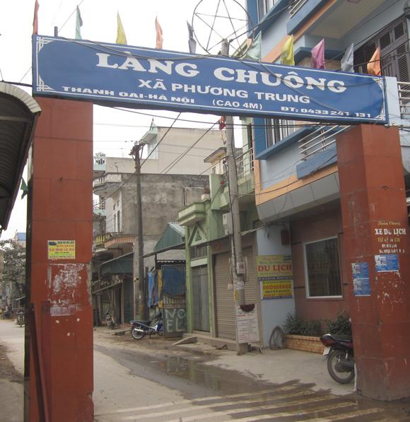 Làng Chuông với làng nghề làm nón nổi tiếng