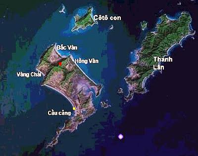Bản đồ đảo Cô Tô