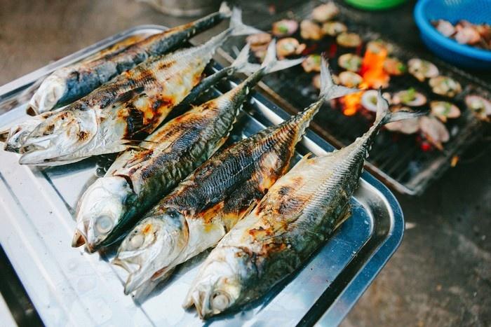 Các loại hải sản tươi ngon roi rói ở Kiên Giang - Ảnh: Nguyen Cuong