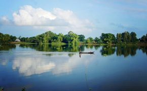 Búng Bình Thiên – hồ nước trời ban của An Giang