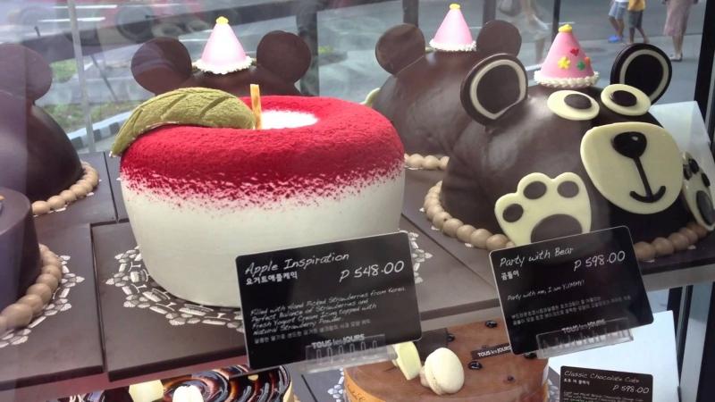 Tous Les Jours nổi tiếng với các loại bánh ngọt