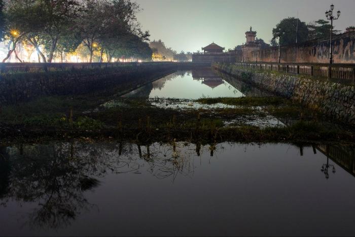 Huế an yên trong một buổi sáng sương sớm ẩn mờ - Ảnh: Kim Syrjämäki