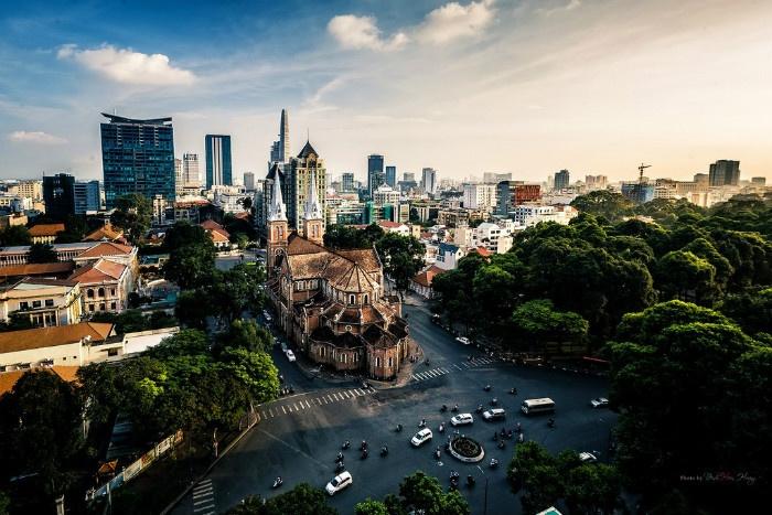 Những ngày cuối năm se lạnh ở Sài Gòn - Ảnh: Hoang Dinh Hien