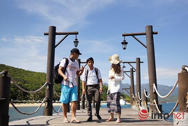 Hòn Tằm - một trong những hòn đảo luôn nằm trong lịch trình của du khách khi đến thăm Nha Trang.