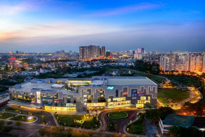 SC Vivo City là một trong những trung tâm vui chơi, mua sắm mới nhất Sài Gòn - Ảnh: Sc Vivo