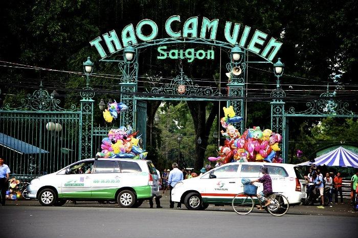 Bạn cũng có thể lựa chọn đi Thảo Cẩm Viên Sài Gòn - Ảnh: dulich-amthuc