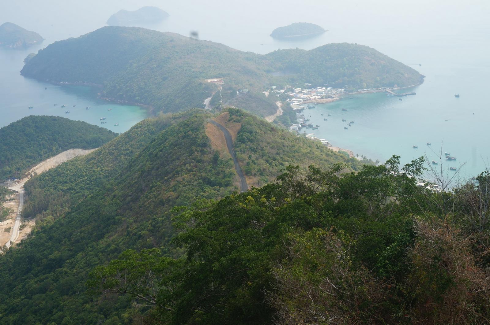 Toàn cảnh Nam Du. Ảnh: Quang Nguyễn