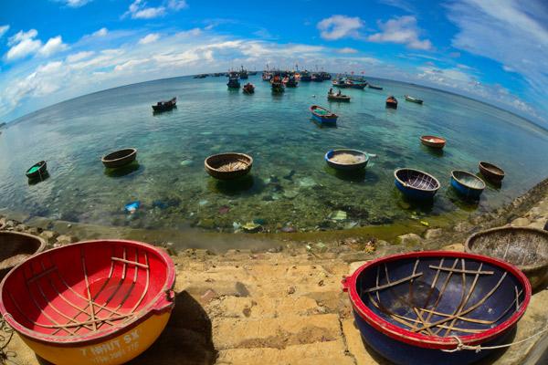 Cảnh đẹp hút hồn ở đảo Lý Sơn
