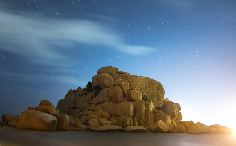 Ngửa mặt hứng sao trời ở bãi Bàng - Mũi Dinh