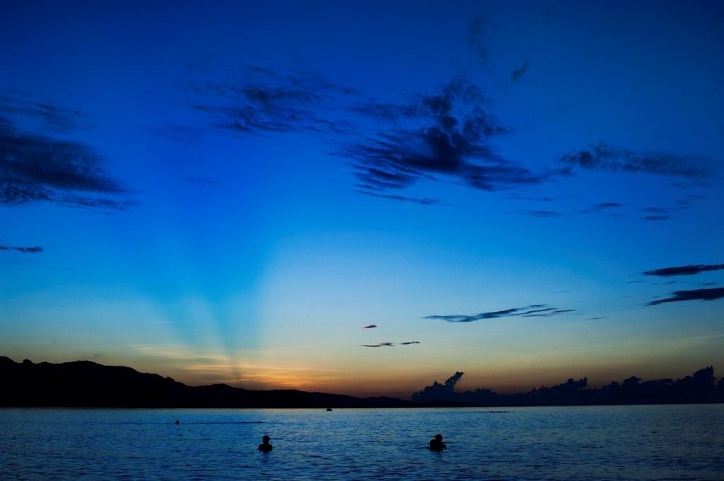Ninh Chữ khi trời vừa hừng sáng - Ảnh: Sơn Tùng Nguyên