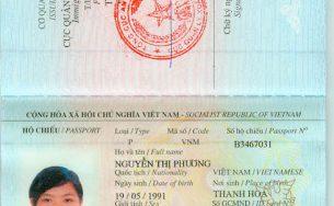 Thủ tục làm hộ chiếu cho người ngoại tỉnh ở Hà Nội