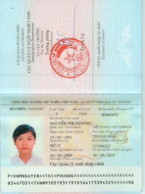 Hộ chiếu là giấy tờ bắt buộc phải có nếu muốn xuất cảnh khỏi nước bạn cư trú