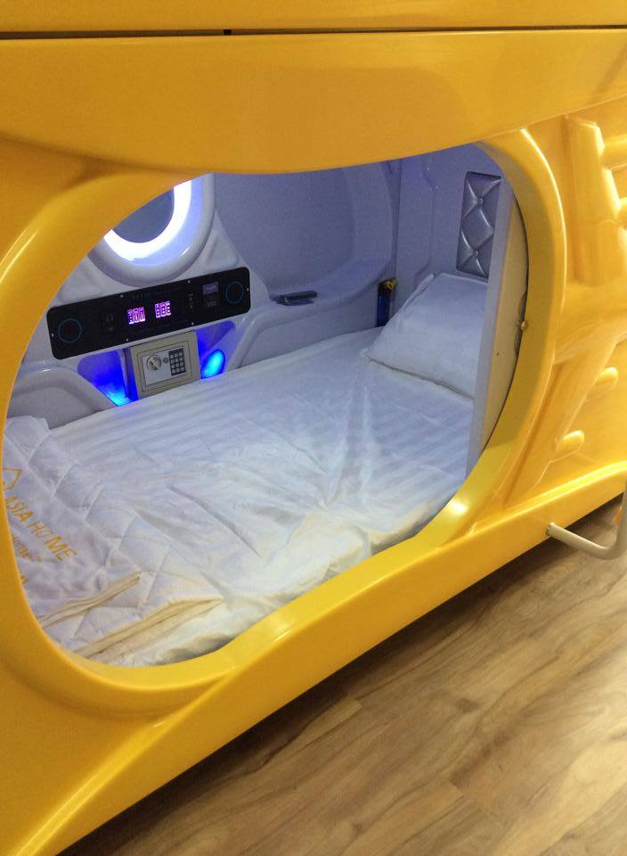 Các buồng ngủ được thiết kế hiện đại