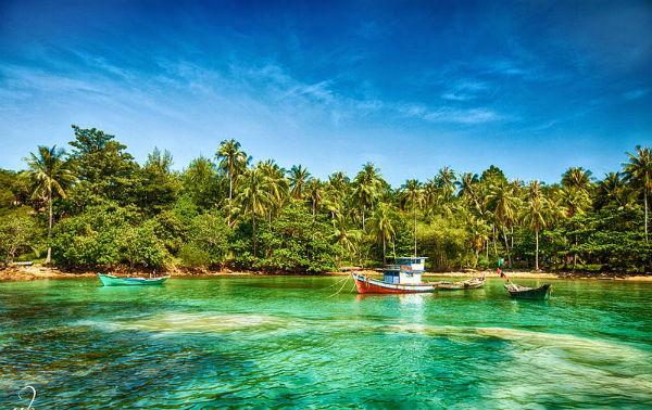 Nước trong xanh, trời trong xanh, cảnh đẹp nên thơ, chắc chắn Nam Du sẽ khiến bạn đã đến sẽ còn quay lại