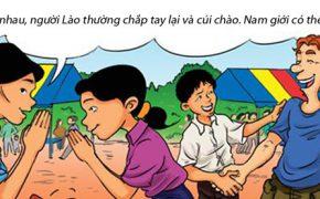 Hí họa: Những điều cấm kỵ khi du lịch Lào