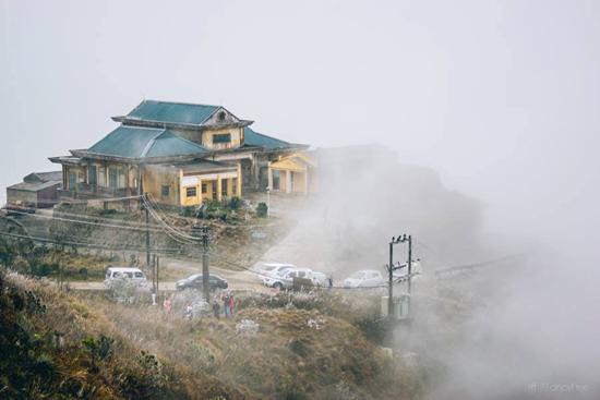 Mẫu Sơn luôn được mây, sương mù che phủ