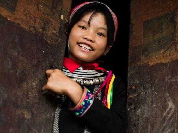 Trẻ em dân tộc Dao, 13 tuổi - Ảnh: Réhahn