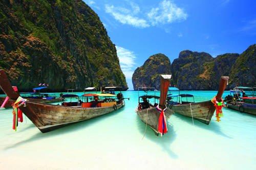 Thái Lan là đất nước sở hữu nhiều danh thắng đẹp, thu hút lượng lớn du khách thế giới. Ảnh: Thestar.