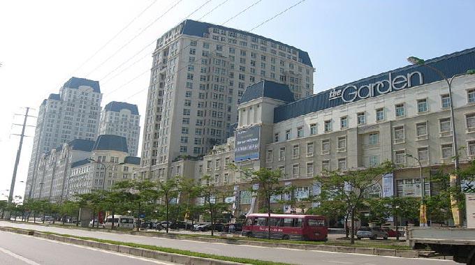 Trung tâm thương mại The Garden