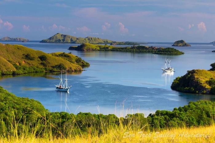 Hình ảnh của đảo từ một góc nhìn khác