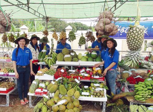 Lễ hội trái cây ở đây