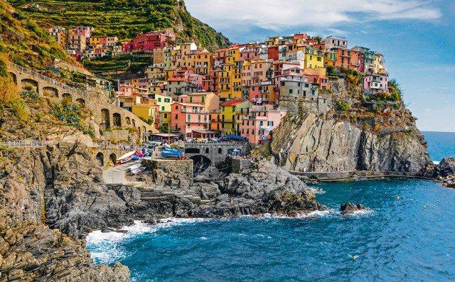 Cinque Terre, Italy. Ảnh: Federica Gentile