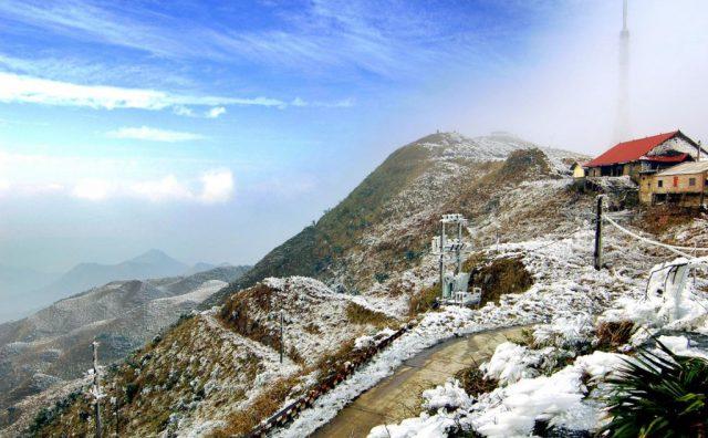 5 Điểm có thể ngắm tuyết ở Việt Nam